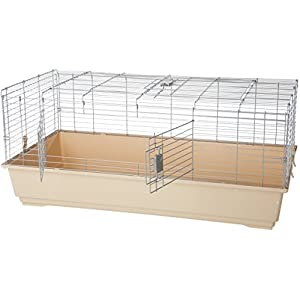 AmazonBasics–Jaula-habitat-para-animales-pequenos-con-accesorios-124-x-68-x-52-cm-Extragrande