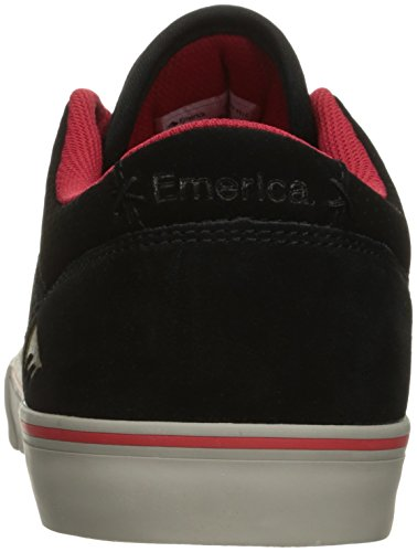 Emerica The Herman G6 - Zapatillas de skateboarding Hombre Negro/Rojo/Gris