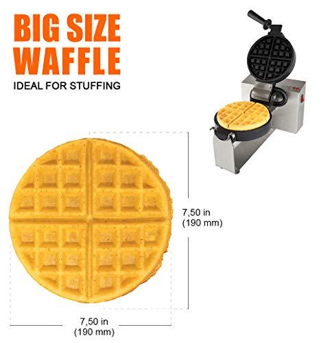 Belgium Waffle Maker Professional for Amazing Belgian Waffles) (Belgian Waffle) by ALDKitchen (Image #1)