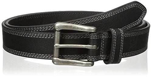 Nocona Belt Co. Men's Work Black Triple Stitch, 36