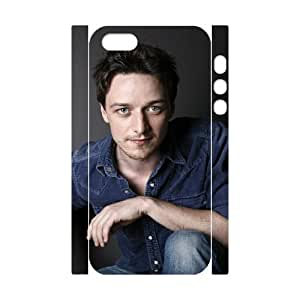 HXYHTY James Andrew McAvoy 2 Phone 3D Case For iPhone 5,5S [Pattern-6]