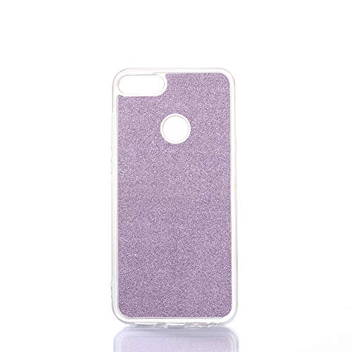 TOTOOSE Cover Huawei Enjoy 8 Plus Huawei Y9 2018 Protects Slim dustproof Shockproof Durable Protective Case Protects - Purple