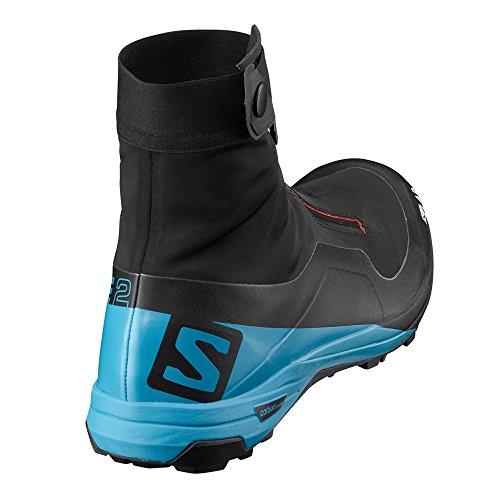 Adultes Unisexe 2 Transcend Noir Rouge 000 S De noir Alpine Course Salomon Trail Chaussures Lab Bleu Xa xIqFfpwT