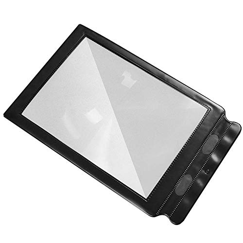 Handheld Reading Aid for a4 Full Page Large Sheet Magnifying 3X Magnifier for Reading Books & Newspapers &Low Vision Aids Large Sheet Magnifying