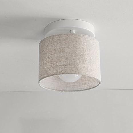 Lamparas de techo Iluminacion LED moderna casa dia 18 cm ...