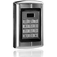 UHPPOTE 125KHz RFID EM ID Card Metal Stand-alone Access Control Keypad