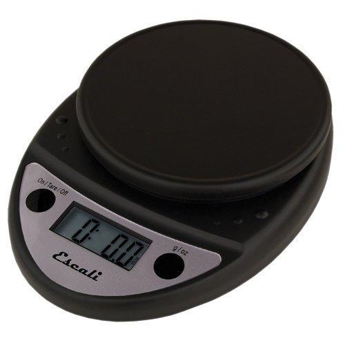 Primo Digital Kitchen Scale 11Lb/5Kg, Black by Escali (Scale Primo Food Escali)
