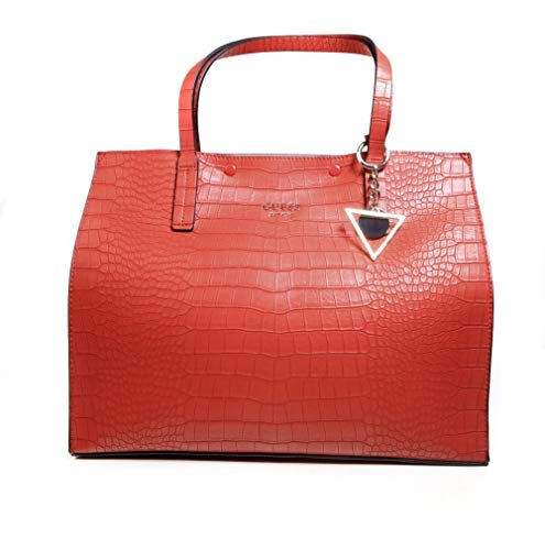 Main Guess Sac À Kinley Large Femme Rouge OUrUSaxn
