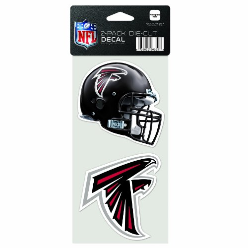 NFL Atlanta Falcons 2-Piece Die-Cut Decal, 4