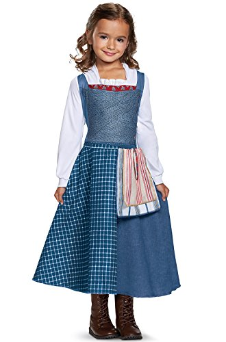 Disney Belle Village Dress Classic Movie Costume, Multicolor, Small ()