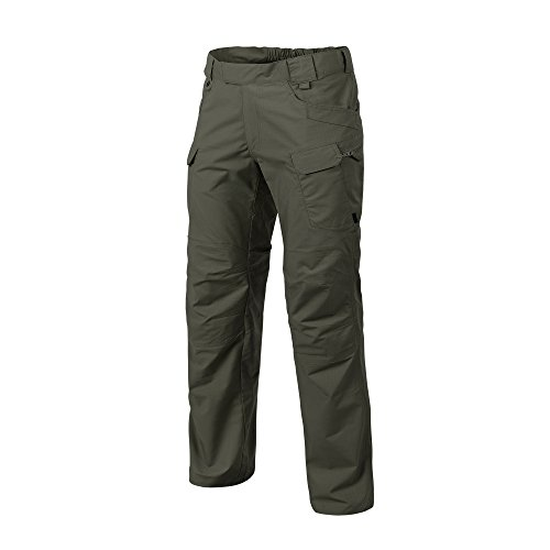 - Helikon-Tex Urban Line, UTP Urban Tactical Pants Ripstop Taiga Green, Military Ripstop Cargo Style, Men's Waist 30 Length 34