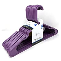 Mainstays 18-Pack Standard Plastic Hangers