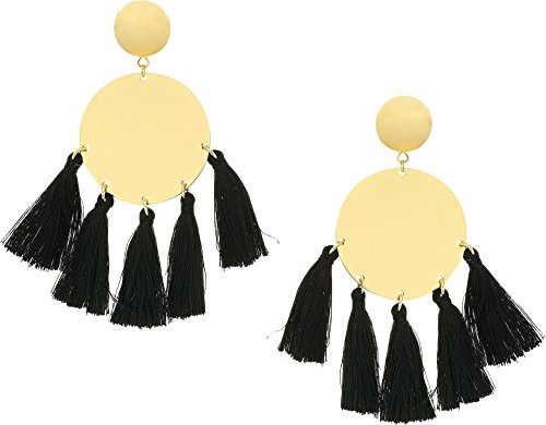 Gold Tone Vermeil Earrings (Shashi Jamie Earrings)