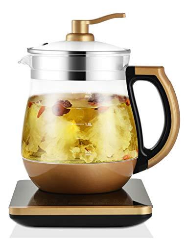 YONGYONGCHONG Electric Kettle Kettle Intelligent Insulation Tea Maker Multi-function Thermostat Electric Teapot Glass Tea Set Heater Visible Transparent Kettle (1.8L)