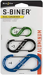 Nite Ize Size-1 S-Biner Dual Carabiner, Stainless-Steel