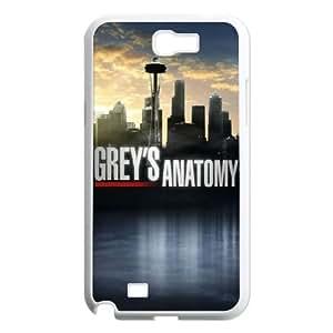 YUAHS(TM) Phone Case for Samsung Galaxy Note 2 N7100 with Grey's Anatomy YAS352914