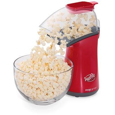 Presto 04863 Poplite Hot Air Popcorn Popper