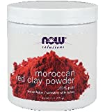 Now Foods Red Clay Powder Moroccan, 6-Ounce (Pack of 2)