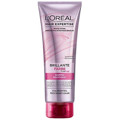 L'Oréal Paris EverPure Farbpflege und Feuchtigkeits Shampoo, 3er Pack (3 x 250 ml)