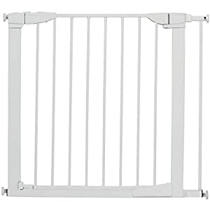 Amazon Com Munchkin Auto Close Metal Baby Gate White Baby