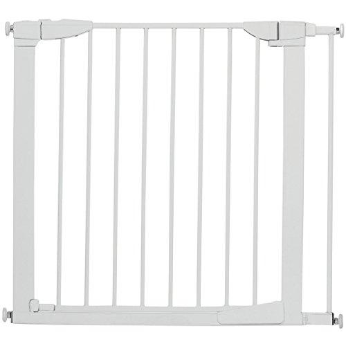 Munchkin Auto Close Metal Baby Gate, White (Old Version)