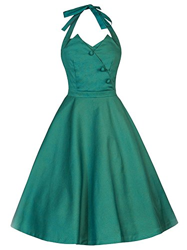 LUOUSE-Womens-Halter-1950s-Vintage-Swing-Party-Cocktail-Tea-Dress