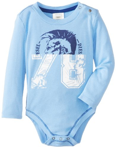 Diesel Baby-Boys Newborn Ufras Long Sleeve Bodysuit Mohican 78 Split