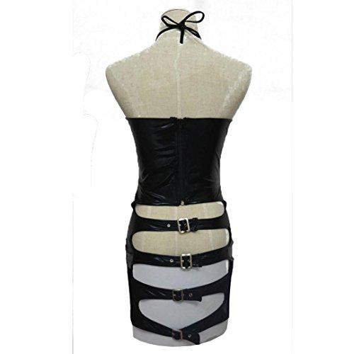 f41568ea3af60 livraison gratuite Femme Lingerie Sexy, Mounter Les femmes Trou hip en cuir   bandage