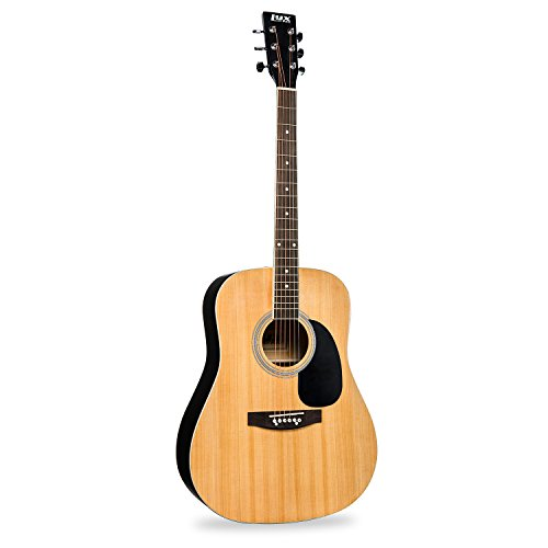"LyxPro 41"" Classic 6-String Acoustic Guitar for Beginner, Intermediate & Professional Players – Includes Hex Key & Maintenance Manual"