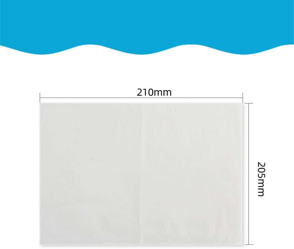 Unscented 2-Ply Mouchoirs Papier Serviette Wrapper Tissue Portable Papier HHORD 100-Pack Pocket Tissues