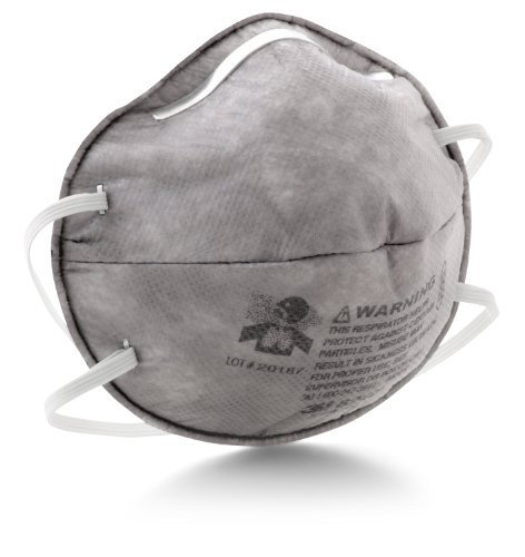 3M Particulate Respirator 8247, R95, with Nuisance Level Organic Vapor Relief (Pack of 20) by 3M