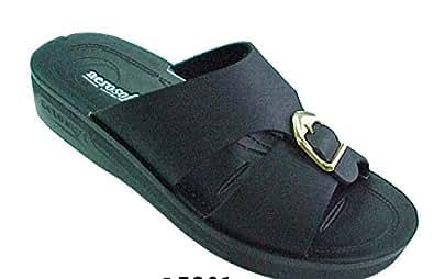 Aerosoft Black Flip Flops Slipper For Men