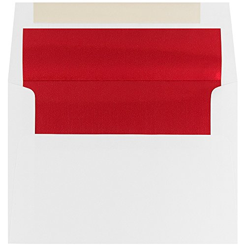 JAM Paper A6 Foil Lined Envelopes - 4 3/4