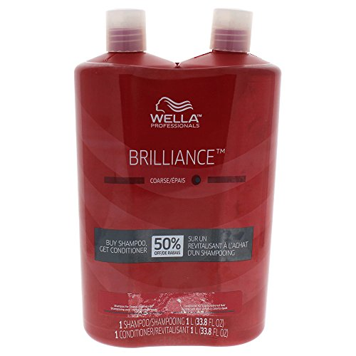 WELLA Elements Brilliance Shampoo and Conditioner Duo for Coarse Hair Kit