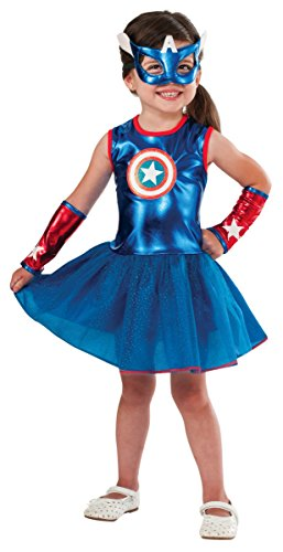 Rubie's Marvel Classic Child's American Dream Costume, Toddler Blue