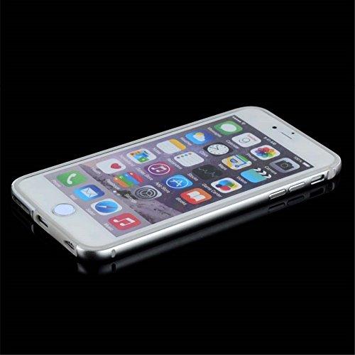 jlw Housse Case Protection parfaite Argent decui Argent Gel/TPU Coque Étui Apple iPhone 6S/6