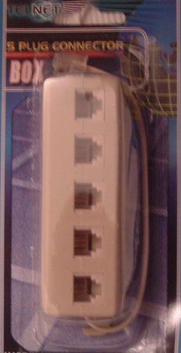 Amazon.com: 5 Port (or 4 , 3 , 2) Way Telephone (Phone , Modem ...