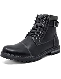 Men's Military Motorcycle Combat Boots