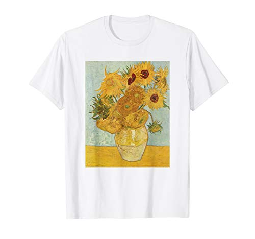 Vincent Van Gogh - Sunflowers - T Shirt Womens Mens Shirt
