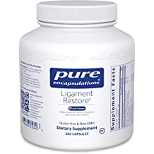 Pure Encapsulations - Ligament Restore - Dietary Supplement Helps Maintain Healthy Tendons, Ligaments and Joints* - 240 Capsules