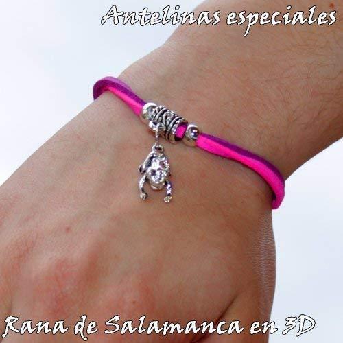 Pulsera de antelina. Rana de la Suerte de Salamanca: Amazon ...