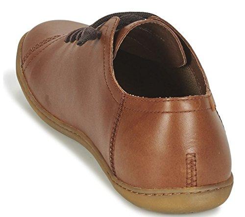 Camper Peu Cami 17665 Tan Hommes Chaussures De Gymnastique En Cuir