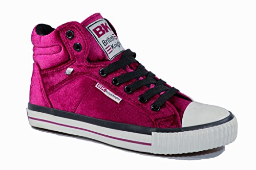 Knights rosa Rosso Rosso Sneaker Donna British vxdAwaHqT