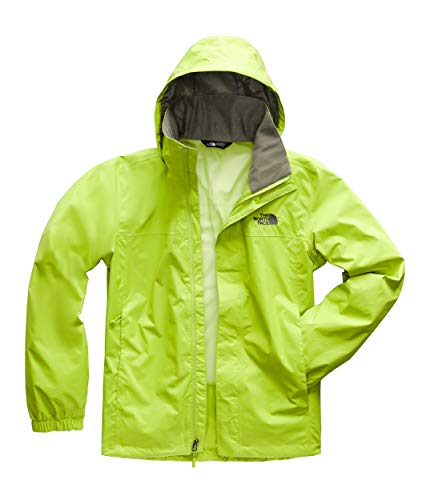 The North Face Men's Resolve 2 Jacket Lime Green/New Taupe Green Large