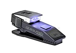 Quiqlitex Hands Free Pocket Concealable Flashlight Ultravioletwhite Led, 20 Up To 75 Lumens