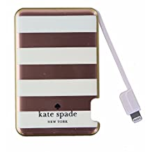 Kate Spade New York Slim Portable Charger with Lightning Cable - Rose Gold/Pink