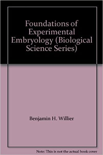 Foundations of Experimental Embryology (Biological Science