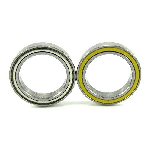 15x21x4mm Precision Ceramic Ball Bearings Hybrid Seals YE (21 Engine Bearings)