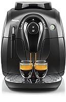 Philips HD8651/01 2000 Serie Kaffeevollautomat, klassischer Milchaufschäumer,...
