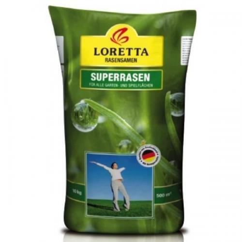 Loretta Superrasen 10 kg, Rasensamen, Rasensaat